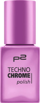 Lak na nehty p2 Techno Chrome Wicked Spring 100, 10 ml