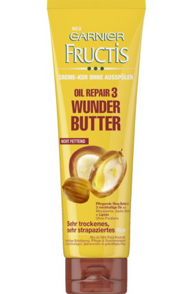 Fructis Oil Repair 3 Wunder-Butter Leave-In Kur, 150 ml