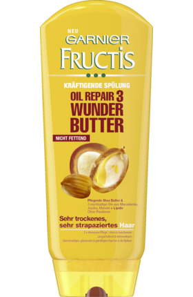 Fructis Kondicionér Oil Repair 3 Wunder-Butter, 200 ml - novinka