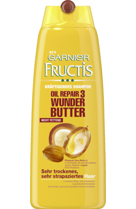 Fructis Šampón Oil Repair 3 Wunder-Butter, 250 ml - novinka