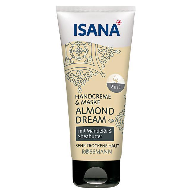 Isana Almond Dream - krém na ruce a maska 2v1 - 100 ml