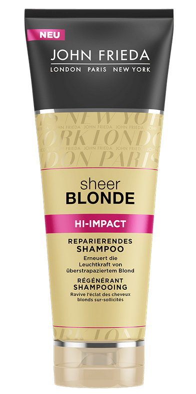 John Frieda - Sheer Blond Shampoo regenerující HI-IMPACT 250 ml