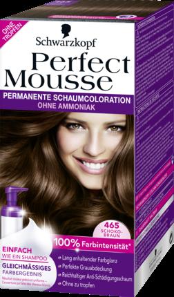 Barva na vlasy Perfect Mousse čokoládově hnědá 465