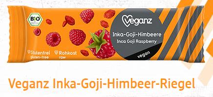 Veganz Superfood tyčinka Inka - Goji - Malina 30 g