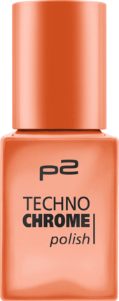 Lak na nehty p2 Techno Chrome Copper Cup 110, 10 ml