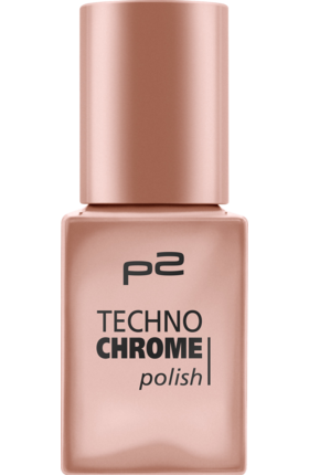 Lak na nehty p2 Techno Chrome Bronze Cut 030, 10 ml