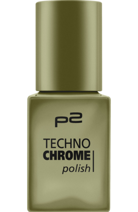 Lak na nehty p2 Techno Chrome Enchanted Forest 080, 10 ml