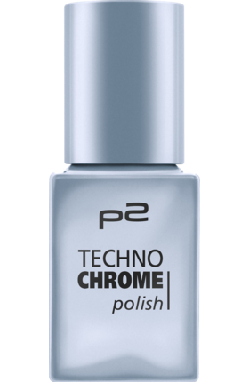 Lak na nehty p2 Techno Chrome Ice Queen 070, 10 ml