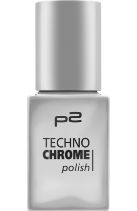 Lak na nehty p2 Techno Chrome Steel Drama 010, 10 ml