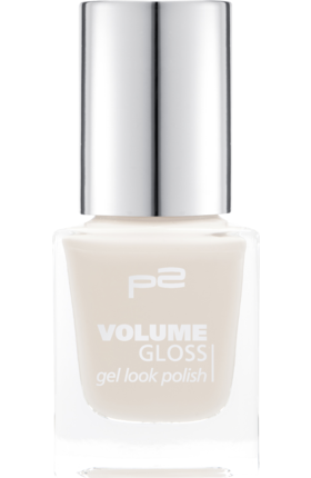 Lak na nehty p2 Volume Gloss Gel Look Cream Maker 330, 12ml